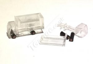 T Gauge Clear Trucks