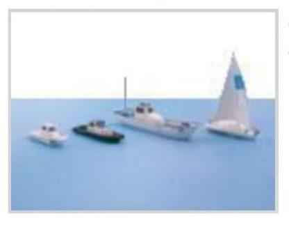 T Gauge C-002 Watercraft Set A