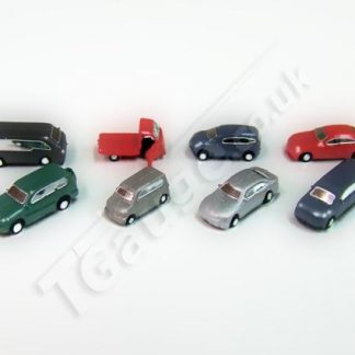 T Gauge CP-005 Painted Cars Set A