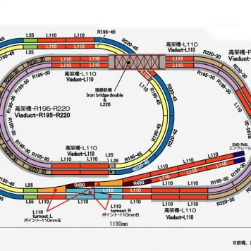 Rokuhan Z Scale Track Plan Q