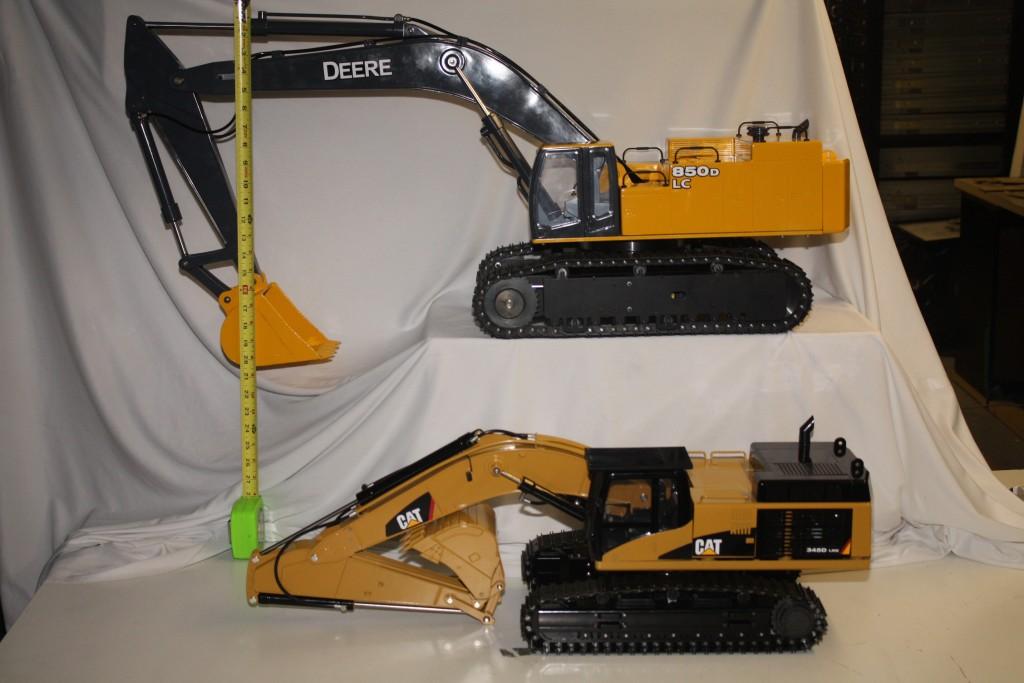 VcsHobbies Vario vs Wedico Excavator custom build