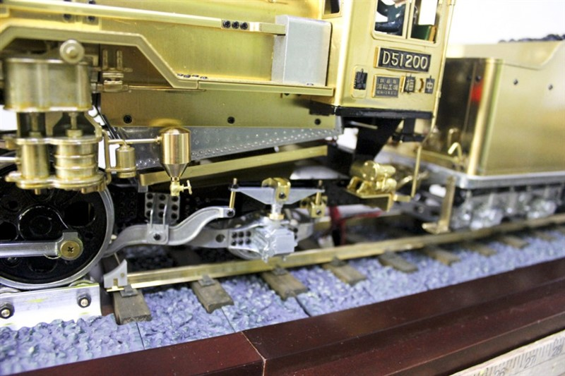 VCS Hobbies Custom build Japanese National Railways D51 Locomotive
