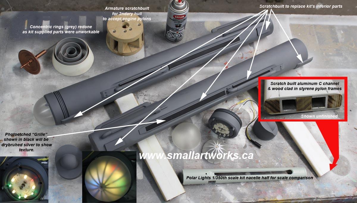 Jim Small USS Enterprise Custom Build