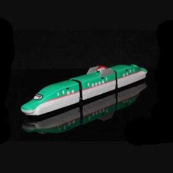 Rokuhan ST001-1 (Shells Only) E5 Type Shinkansen 3-Car Body Set Hayabusa