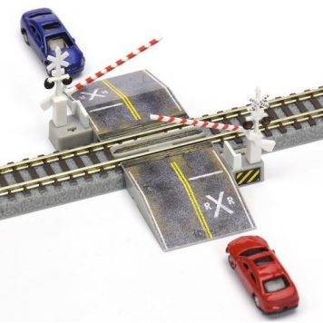 rokuhan z gauge decals grade crossing