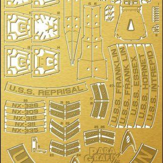 Paragrafix PGX212 U.S.S. Franklin Photoetch Set