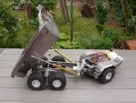 vario rc dump truck bell 50d radio controlled