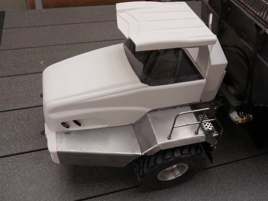 vario rc bell 50d mini construction truck