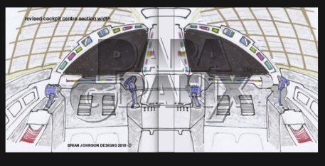 Brian Johnson's Concept Hawk Cockpit from Paragrafix