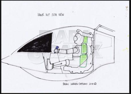 Brian Johnson's Concept Hawk Cockpit PGX214