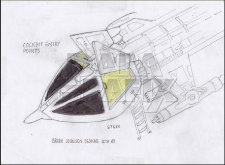 Brian Johnson's Concept Hawk Cockpit Photoetch