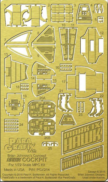 Paragrafix Brian Johnson's Concept Hawk Cockpit