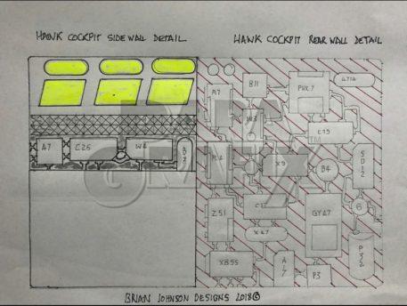 Photoetch from Paragrafix Brian Johnson's Concept Hawk Cockpit