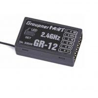 Graupner GR-12 6 Channel 2.4GHz HoTT Receiver