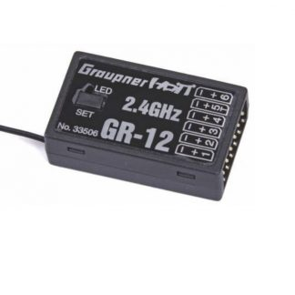 Graupner GR-12 6 Channel 2.4GHz HoTT Receiver