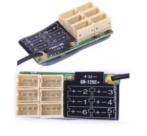 Graupner GR-12SC/ZH+ 6-Channel 2.4GHz HoTT Receiver