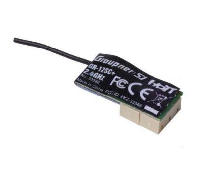 GR-12SC/ZH+ 6-Channel 2.4GHz HoTT Receiver