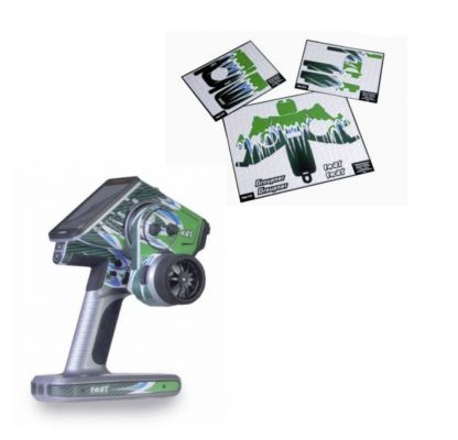 4 Channel color tft surface radio with green vinyls