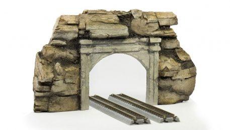 Z Scale Concrete And Rock Double Portal