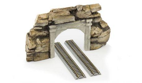 Z Trains Concrete And Rock Double Portal