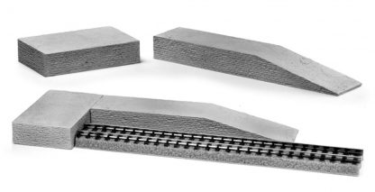 Z Scale Brick and Ramp scale