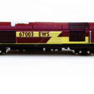 BR Class 67 locomotive number 67003