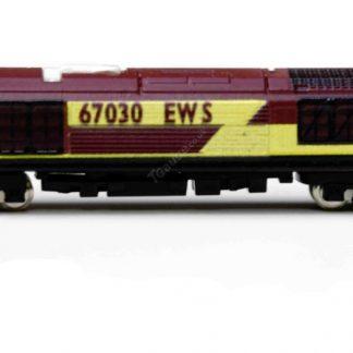 BR Class 67 locomotive number 67030