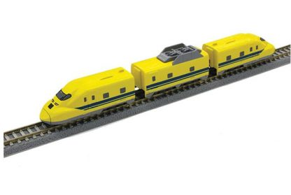 Rokuhan Z Shorty ST004-1 Non-Powered 3-Piece Set Doctor Yellow Type 923