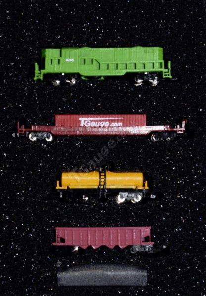 t gauge emd gp8 freight train setr