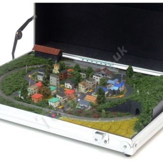 T gauge train Attache Case Diorama