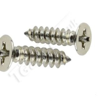 T Gauge Track Screws