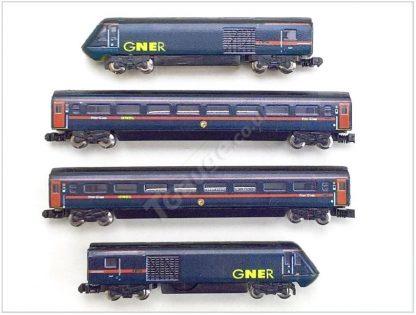 T Gauge GNER Inter-City 125 HST Starter Model Railway Set