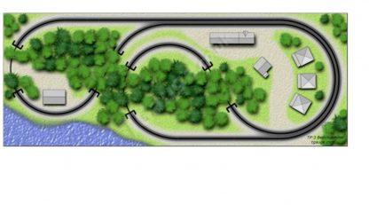 The Beachcomber Train Set Plan