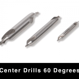 Center Drills - 60 degrees