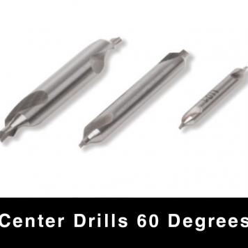 Center Drills - 60 degrees