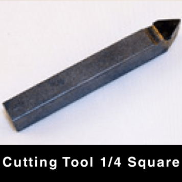 "Cutting Tool - 1/4"" Square"