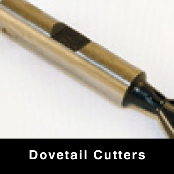 """Dovetail Cutters - 3/8"""" Shank"""