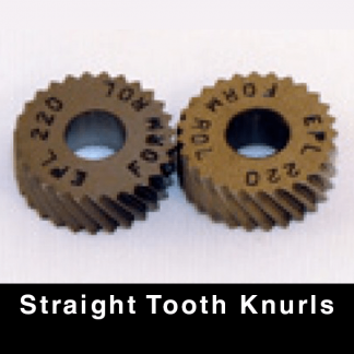 Straight Tooth Knurls
