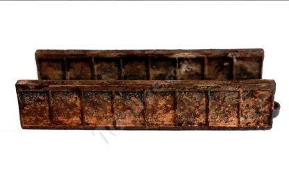 Iron Plate Bridge in rusted look