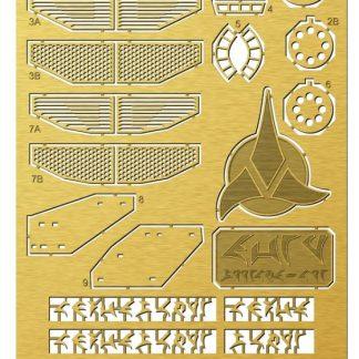 Paragrafix 1/350 K'Tinga Photoetch Set PGX218