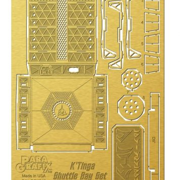 Klingon K'Tinga Shuttle Bay Photoetch Set