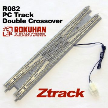 Rokuhan R082 Double Crossover Track