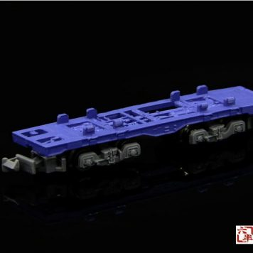 Rokuhan SA006-1 Z Shorty Container Car in Blue