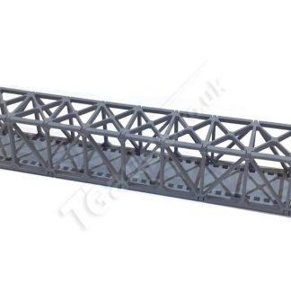 Grey Truss Bridge 160mm