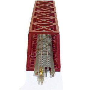 160mm red truss bridge from t gauge