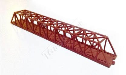 Red truss bridge 160mm
