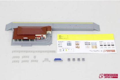 Rokuhan S047-2 Train Station (Red)