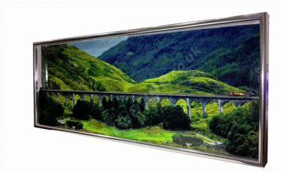 S-075 T Gauge Glenfinnan Viaduct Picture Frame Diorama