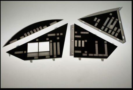 Paragrafix EVA Pod Brass Photoetch Set