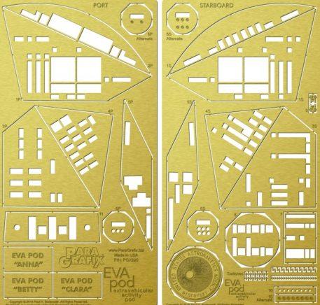 Paragrafix EVA Pod Photoetch Set